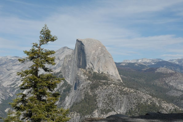 Glacier Point view of Half Dome.