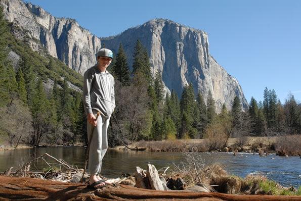 el capitan in Yosemite.