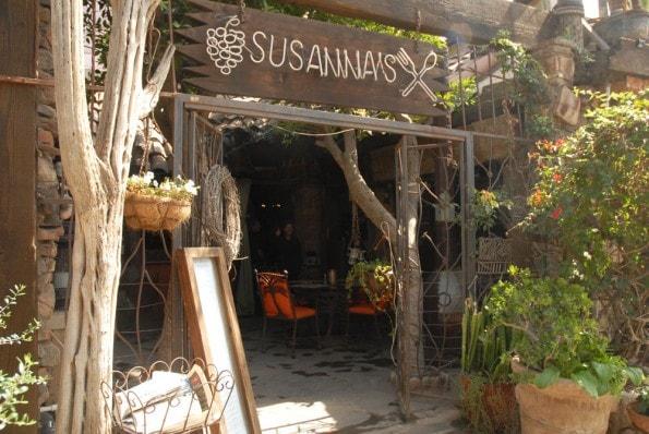 Sussana's restaurant in Rosarito