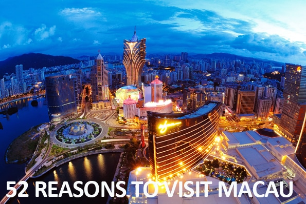 Read About 52 Reasons to Visit Macau