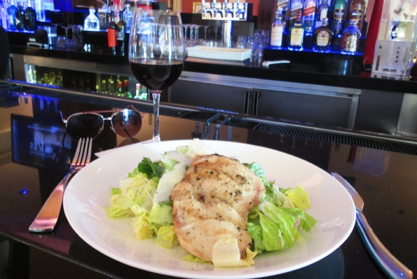 Renaissance-Los-Angeles-Airport-Hotel-bar-caesar-salad