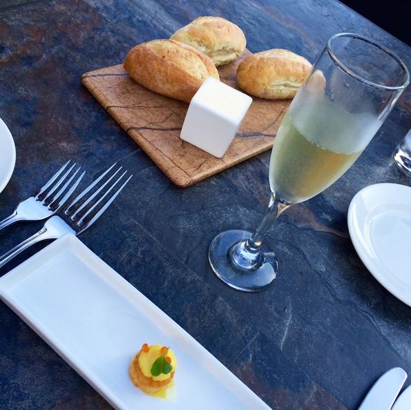 champagne-brioche-cup-whipped-egg-caviar-arugula