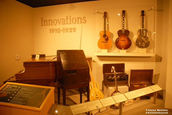 Museum of Music exhibit located in Carlsbad, California