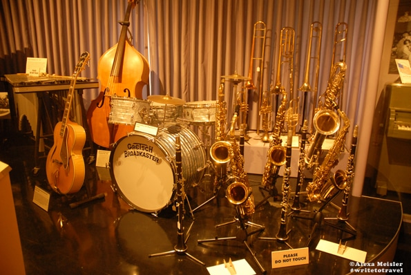 Museum of Music percussion exhibit located in Carlsbad, California