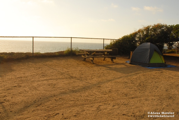 Carlsbad State Beach Camp Ground.