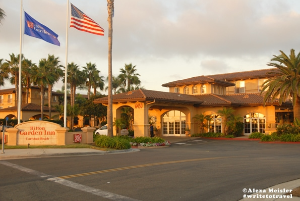 Hilton Garden Inn Carlsbad Beach Photo of front of hotel