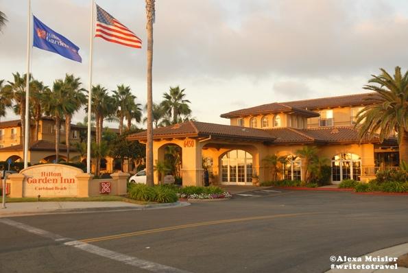 Hilton Garden Inn Carlsbad Beach Photo Of Front Of Hotel