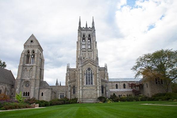 Bryn Athyn Cathedral located in Bryn Athyn, PA