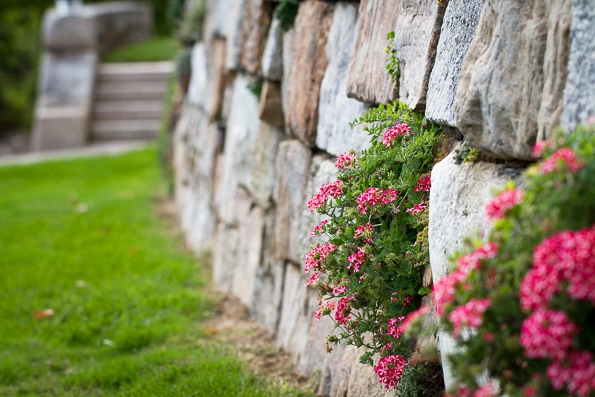 Enjoy the award-winning gardens along the paths of the Bryn Athyn Historic District in Bryn Athyn, PA