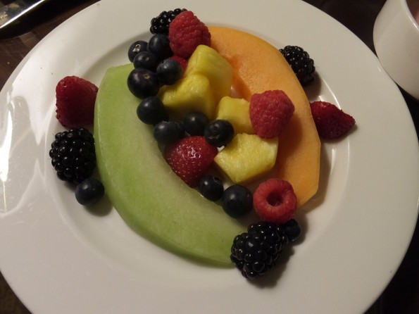 fruit plat at the american club in kohler, wisconsin