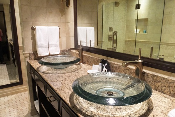 Kohler Wisconsin american-club hotel bathroom sinks