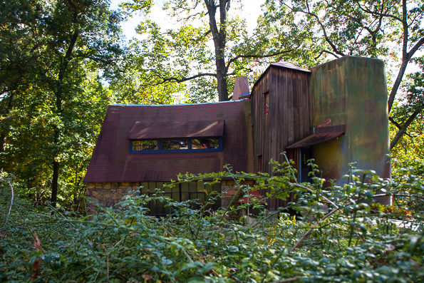 Wharton Esherick's woodworking studio and National Historic Landmark and museum in Malvern, PA