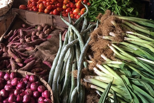 Market in Hikkaduwa, Southern Sri Lanka