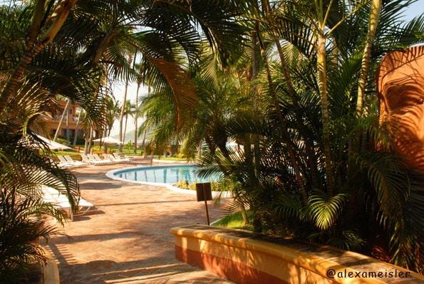 Grounds at pueblo bonito in Mazatlan, Mexico
