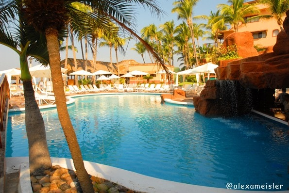 Pueblo Bonito Resort Pool in Mazatlan, Mexico